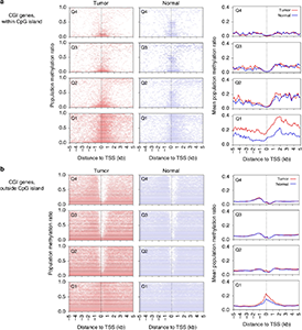 DNA methylation and gene expression in HPVOPSCC and normal oropharynx