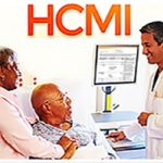 HCMI banner with patients